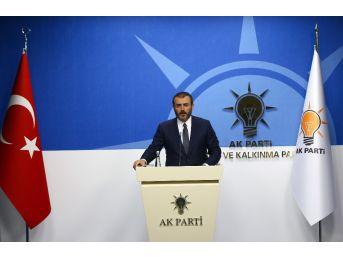 """Ak Parti Sözcüsü Ünal: """"chp'nin Derdi Seçim Güvenliği Değil"""""""