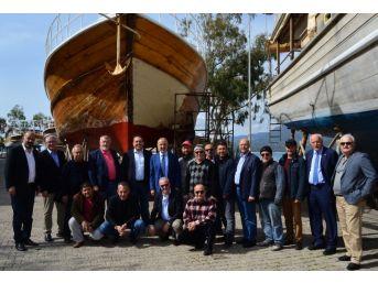 İmeak Dto Başkanı Kalkavan, Denizcilerin Sorunlarını Dinledi