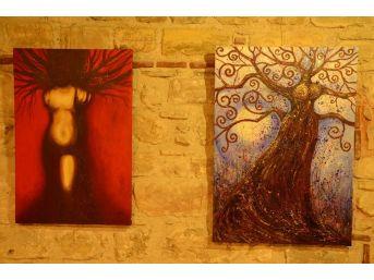 'ağaç Ve Kadınlar' Fotoğraf Ve Resim Sergisi Kuşadası'nda Açıldı