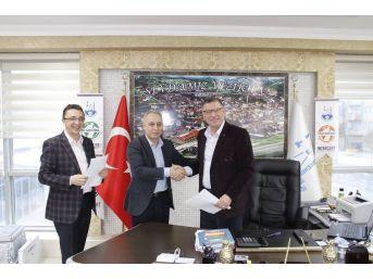 Vezirhan Belediyesi İle Ziraat Bankası Arasında Protokol İmzalandı