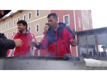 Sarıkamış'ta Mehmetçik Afrin İçin Yola Çıktı