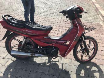 Çalıntı Motosikletle Yakalanan Şahıs Gözaltına Alındı