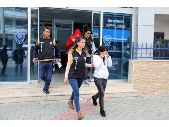Alanya'da Fuhuş Operasyonu: 2'si Kadın 4 Gözaltı