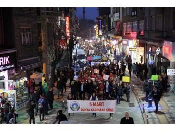 Fener Alayı Kadın Yürüyüşü Gerçekleştirildi.