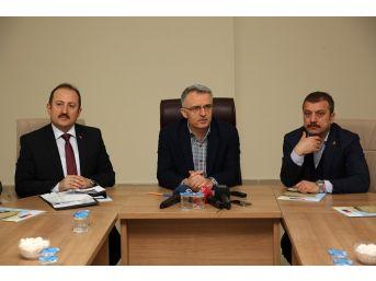 """Maliye Bakanı Ağbal: """"gereken Her Türlü Destek Verilecek"""""""