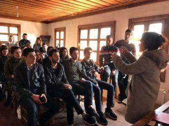 Buldan'daki Tarihi Beyler Konağı'nda İlk Ders Yapıldı