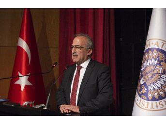 Atatürk Üniversitesinde 14 Mart Tıp Bayramı Kutlandı