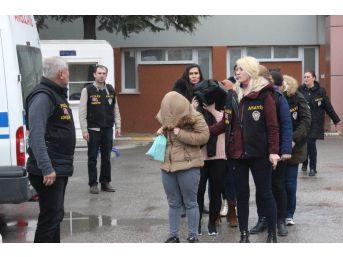 Eskişehir Merkezli Fuhuş Operasyonunda Gözaltına Alınanlar Hastanede