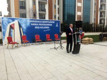 Sancaktepe'de Çanakkale Zaferi'nin 103'üncü Yıl Dönümünü Anıldı