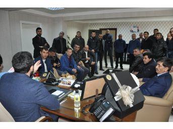 Bakan Arslan, Güvenlik Görevlilerine Verdiği Sözü Tuttu