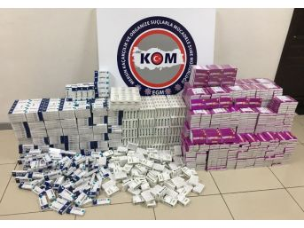 Mersin'de İlaç Kaçakçılığı Operasyonu