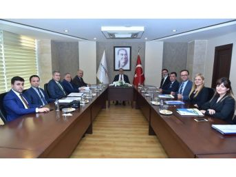 Teknopark Toplantısı Vali Su Başkanlığında Yapıldı