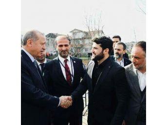 Cumhurbaşkanı Erdoğan, Dünya Şampiyonu Metehan Başar'ı Kabul Etti