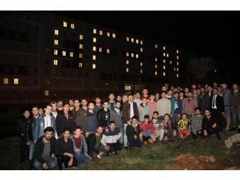 Öğrencilerden Afrin Harekatına Işıklı Destek