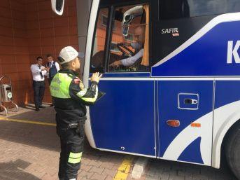Emniyetten Otobüslere Sıkı Denetim