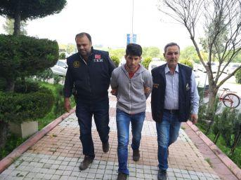 Türk Bayrağına Hakaret Eden Ypg'li Tutuklandı