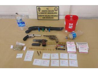 Amasya Merkezli 4 İlde Narkotik Operasyonu: 18 Gözaltı