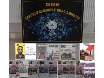 Didim'de Terör Propagandası Yapan Bir Kişi Yakalandı