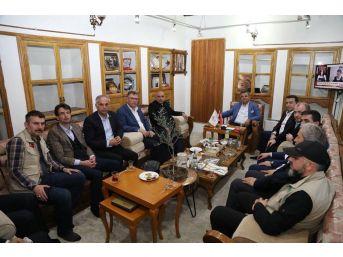 Bilecikli Başkanlardan Sınırdaki Belediyelere Ziyaret