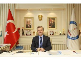 Başkan Tahmazoğlu'nun Üç Aylar Ve Regaib Kandili Mesajı