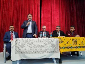 'ak Parti Yerel Buluşmalar Toplantısı' Cide'de Yapıldı