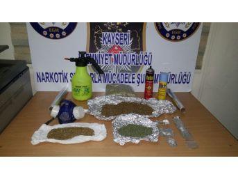 Kayseri Polisinden Uyuşturucu Operasyonu