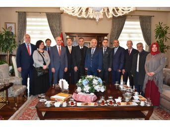 Vali Güvençer, Cezayirli Rektörleri Ağırladı