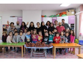 Samsun Myo, Anaokulu Öğrencilerine Sanatı Sevdirdi