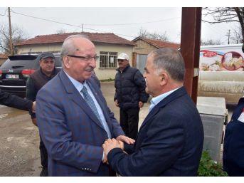 Başkan Albayrak'tan Ergene, Kapaklı, Saray Ve Muratlı İlçelerinde Vatandaşlarla Buluştu