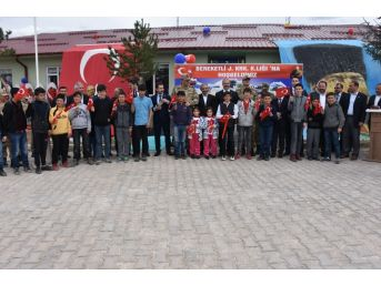 Geleceğin Mehmetçikleri Jandarma Karakolu'nun Açılışını Yaptı