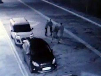 Tokat'ta İki Grup Arasındaki Kavga Güvenlik Kamerasına Yansıdı