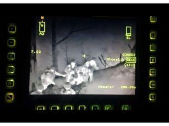 Amanos'ta Öldürülen Teröristler Termal Kamerada