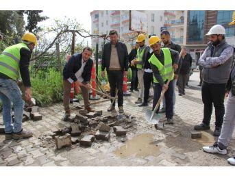 Gazipaşa'da İlk Kazma Vuruldu