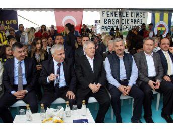 Kayseri'de 'fenerbahçe Evi'nin Temeli Atıldı