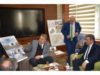 Bbp Genel Başkanı Destici'den Başka Çerçi'ye Ziyaret