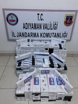 200 Karton Kaçak Sigara Ele Geçirildi