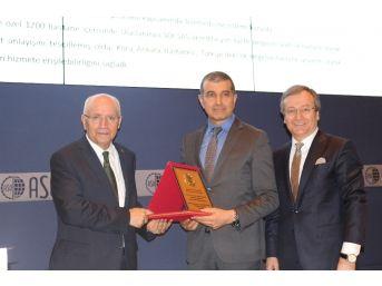 Tüsiav Verimlilik Ödülleri'nde Yılın En Verimli Sağlık Kuruluşu Koru Hastanesi Oldu
