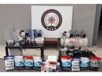 Kaçak Sigara İçin Elektronik Tütün Doldurma Makinesi Yaptırmışlar