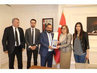 Gbc'den Fatma Şahin'e Ziyaret