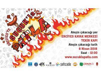 Sucuk Ekmek Yeme Yarışması, Erciyes'te Eğlenceye Davetiye Çıkaracak