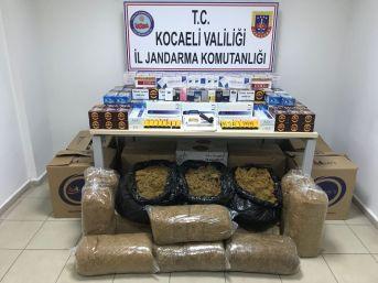 Kocaeli'de Kaçak Sigara Operasyonu: 4 Gözaltı