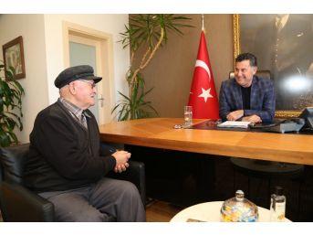 Alevi Bektaşi Derneğinden Başkan Kocadon'a Ziyaret