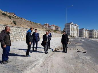 Niğde Beldiye Başkanı Özkan, Kentsel Dönüşüm Alanını İnceledi