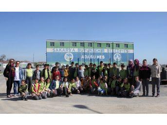Tesis Gezileri Öğrencilerin Suya Duyarlılığını Arttırıyor