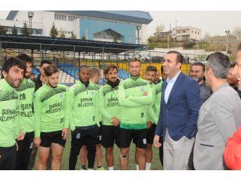 Şırnak Belediyespor'da Hedef Bal'a Çıkmak