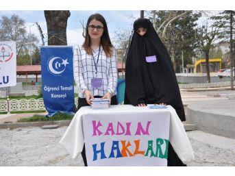 Uşak'ta Kadın Haklarıyla İlgili Farkındalık Oluşturmak Amaçlı Proje Gerçekleştirildi
