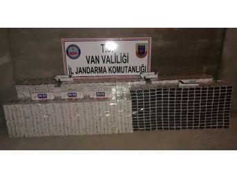 Sınır Hattında At Sırtında 10 Bin 280 Paket Kaçak Sigara Ele Geçirildi