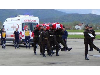 Karabük'te Şehit Düşen Askerler Memleketlerine Uğurlandı