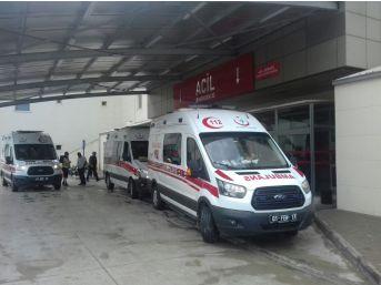 Adana'da Öğrenci Servisi Devrildi: 16 Yaralı