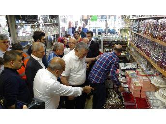 Belediye Başkanlarından Kilis Esnafına Alışveriş Desteği
